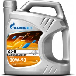 Масло Газпромнефть GL-5 80W90 (4л) (замена сибнефть супер Т-2)